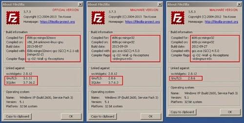 FileZilla Malware Password Stealer